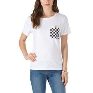 Vans x Peanuts Woodstock Checkered Pocket T-Shirt